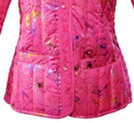 春亚纺充绒复条面料(330T)