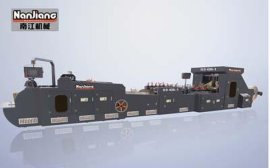 江苏南江智能装备股份  HD-430-1 型卷筒式四角方底纸袋机