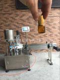廠家直銷 西林瓶液體全自動灌裝封蓋灌裝機 小瓶精油灌裝包裝線