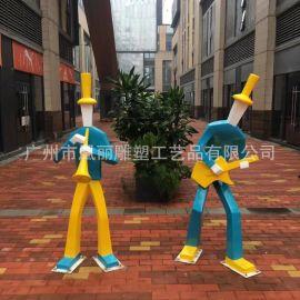 廣州玻璃鋼廠家定制玻璃鋼 歐式人物雕塑園林景觀定制工廠