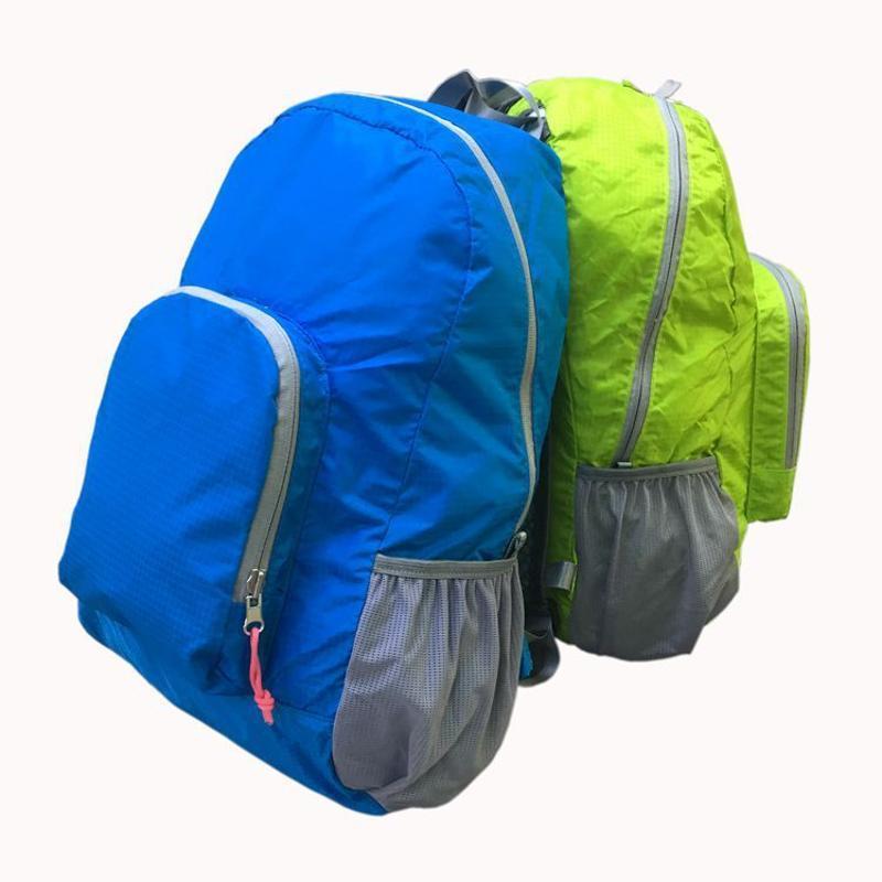 源頭工廠高品質戶外摺疊揹包超輕防水摺疊包 旅行輕便收納雙肩包