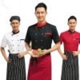 酒店廚師服短袖甜品麪包房中餐廳快餐西餐廳 廚房服裝工作服批發