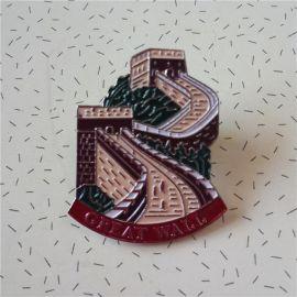 厂家定制徽章 金属徽章 创意个性胸章 来图来样定制