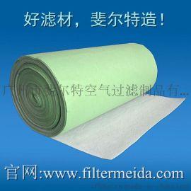 绿白**过滤棉 G3初效过滤棉 空气过滤棉3-5mm