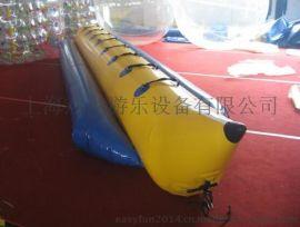 批发供应 水上乐园 香蕉船 充气香蕉船 水上跷跷板 水上蹦床