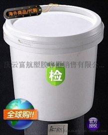 1LPP聚丙烯大口塑料桶