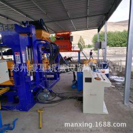 厂家直销混凝土免烧制砖机 免烧砌块砖机 多功能全自动水泥砖机