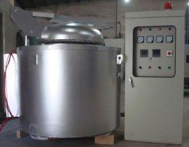 500KG 铝合金铝锭熔化炉 低溶点有色金属熔炼炉