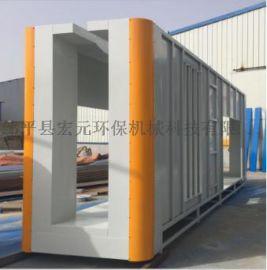 喷塑涂装流水生产线 邹平县宏元生产线