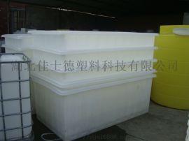 PE塑料方箱推布箱湖北十堰市厂家定制盖板及轮子