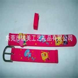供应立体手表带 滴胶手表带 卡通后表带