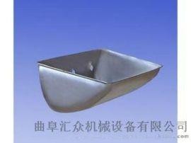 提升机配件料斗厂家推荐 使用寿命高于钢质畚斗