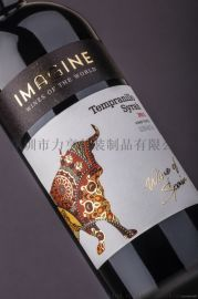 不干胶标签红酒包装设计酒标印刷