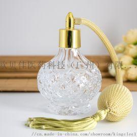 广州厂家直销水晶香水瓶香薰瓶膏霜瓶精油瓶玻璃瓶器