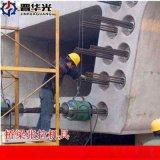 四川自贡市65吨千斤顶张拉穿心式千斤顶厂家直销