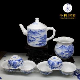 手绘青花茶具知识百科_专业的手绘青花茶具厂家