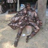 玻璃钢情侣雕塑 仿铜女人依偎男人肩膀休闲造型摆件定做