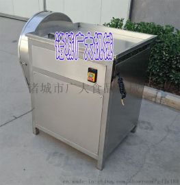 红薯土豆切片机 电动不锈钢旋转刀盘切红薯土豆片设备