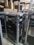 航空拉杆箱定制 铝合金防震航空设备箱 黑色耐摔军用设备航空箱