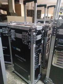 航空拉杆箱定制 铝合金防震航空设备箱 黑色耐摔**设备航空箱
