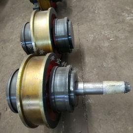 轨道行走车轮组 电动平车车轮组 φ600/φ700