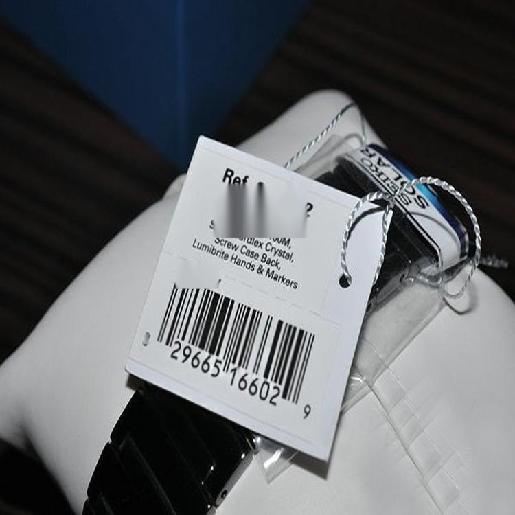 手表带标签/珠宝首饰LOGO印刷标签/间隔胶