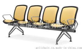 厂家直销  布面带写字板培训排椅SC-023