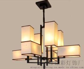 新中式品牌灯具 中式风格灯 会所别墅中式  灯寺庙灯具