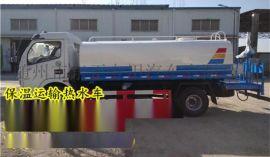 东风10吨保温运热水车_热水保温运输车详细价格配置