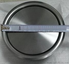 台面嵌入式垃圾桶 304不锈钢圆形垃圾桶饰盖 摇盖