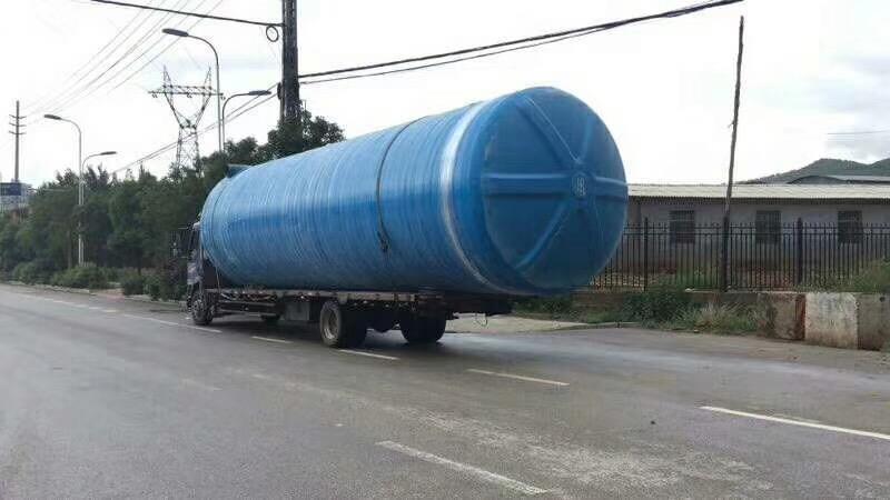 新型加固化粪池 玻璃钢化粪池耐压抗冲
