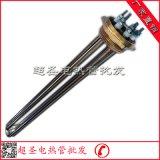 热水器电热管 一寸半铜头DN40蒸汽炉发热管 锅炉加热管380V/12KW