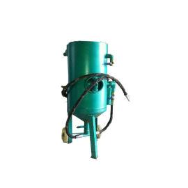 供应墓碑喷砂机 移动式喷砂机 大理石户外移动加压罐