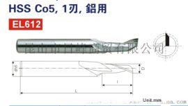 P-Beck品牌HSS Co5,1刃铝用铣刀