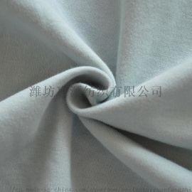 潍坊 50s超爽有机棉丝光针织面料休闲服运动服面料