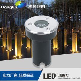 led照树灯-圆形地埋灯-1-18W大功率埋地灯