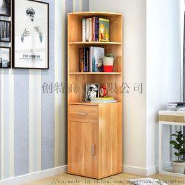 创意书架子简约现代小书柜多功能置物架大容量收纳柜