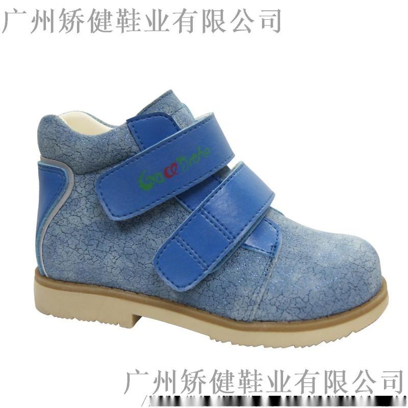 廣州真皮平足矯正鞋,暢銷歐美的功能鞋學生皮鞋