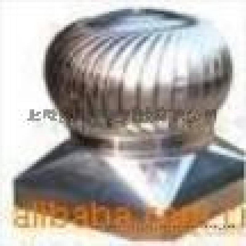 A濟南800型無動力渦輪風機不鏽鋼風球煙道風帽