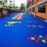 臨夏籃球場拼裝地板 甘肅懸浮地板廠家