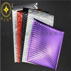 **纯料包装薄膜 成都双流PET镀铝膜复合气泡袋 电商快递袋厂家直销