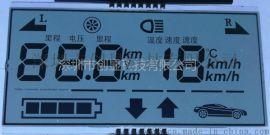 车载里程表 LCD液晶显示屏