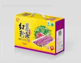 郑州红薯粉条包装箱 礼品盒生产定制 量身定制