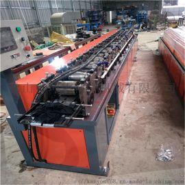 无极切断c型钢设备 钢板金属镀锌板材冷弯滚压成型机