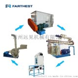 供应小型饲料工程 积木式饲料机组 完整饲料生产线