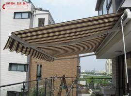 上海电动雨篷 上海杨浦区电动伸缩式露台遮阳篷报价