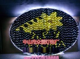 凤凰图案灯龙形造型灯街道装饰亮化LED过街灯
