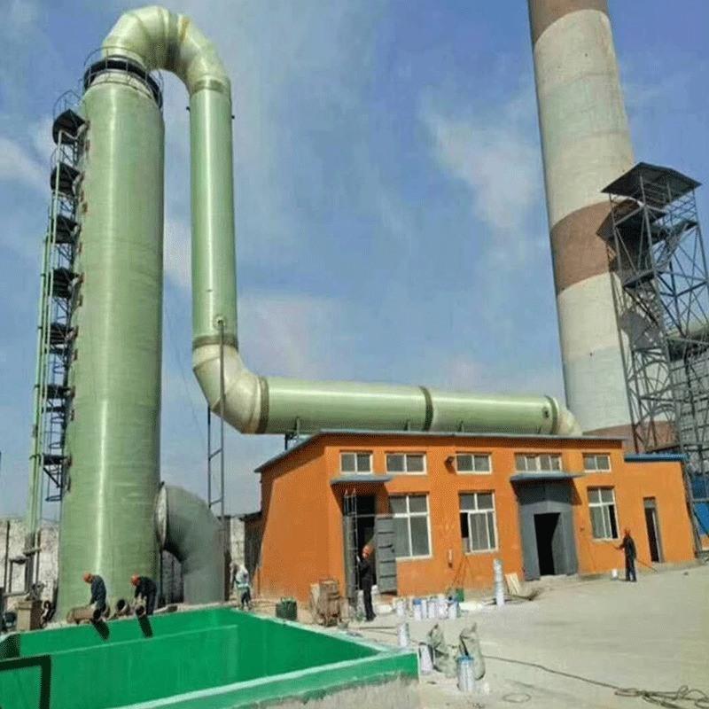 旋流板脱硫塔 除尘脱硫塔一体化装置 砖厂专用烟气