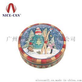 东莞铁盒厂家定制食品包装马口铁盒,圆形马口铁罐-4008002328
