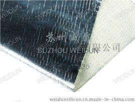 苏州威盾铝箔布,风管专用防火铝箔布,铝箔玻璃纤维布